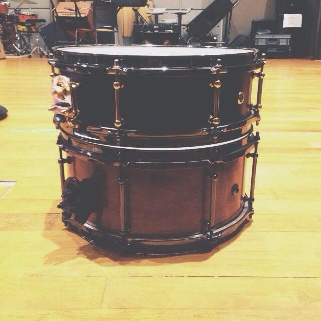 Pantheon Percussion: new audio samples for Bubinga and Birch snares