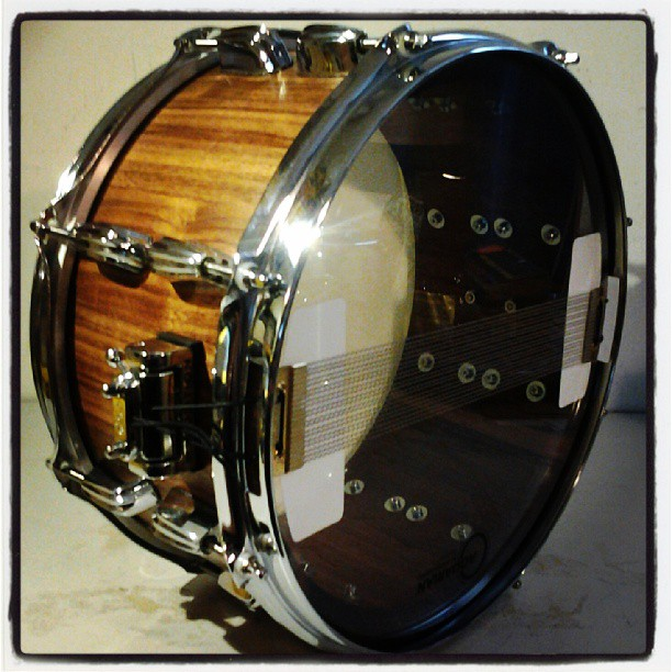 Pantheon Percussion: Gary Gideon commissions Pantheon Percussion snare