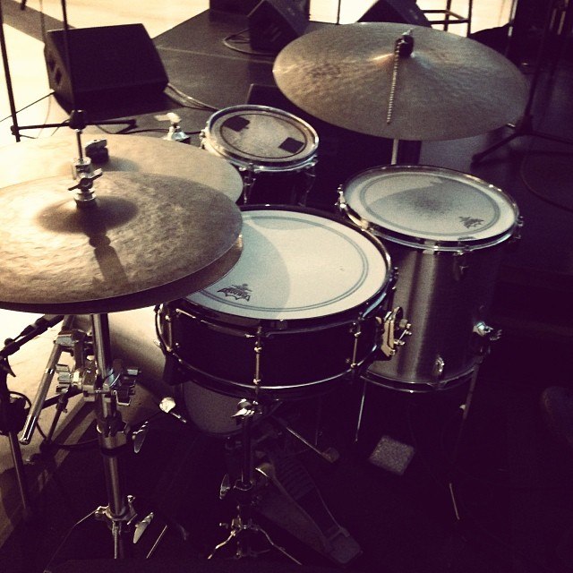 Pantheon Percussion: Birch snare featured at Marina Bay Sands weekly
