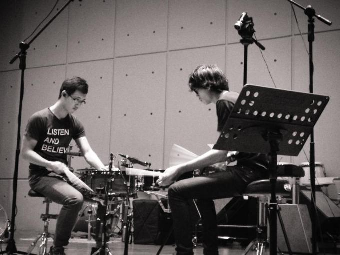 Pantheon Percussion: Aaron James Lee and Teo Jia Rong featured