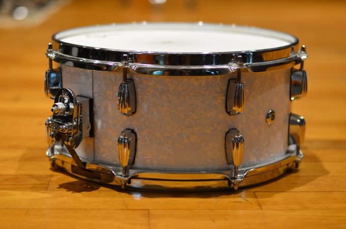 Pantheon Percussion: 14 x 6.5 maple snare (6-ply with reinforcement)