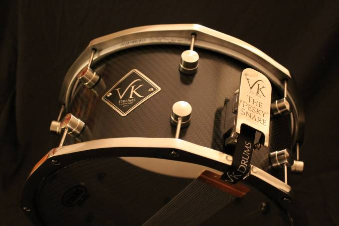 Pantheon Percussion: VK Custom Drums Stainless Steel Hoops available
