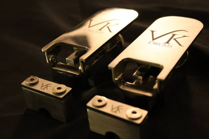 Pantheon Percussion: VK Custom Drums snare strainers available