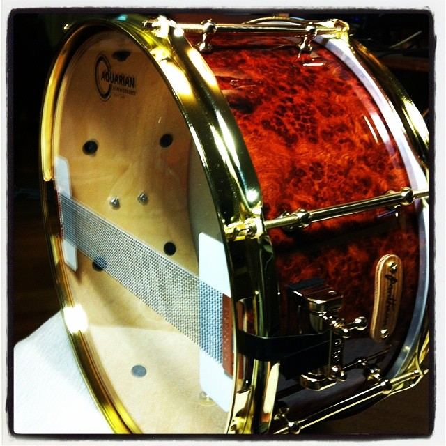Pantheon Percussion: Did you catch this snare tonight @ Blujaz?