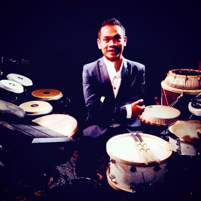 Pantheon Percussion: Riduan Zalani to drum for 24 hours straight on new year's eve