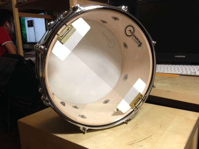 Pantheon Percussion: Classic looks for this Maple snare