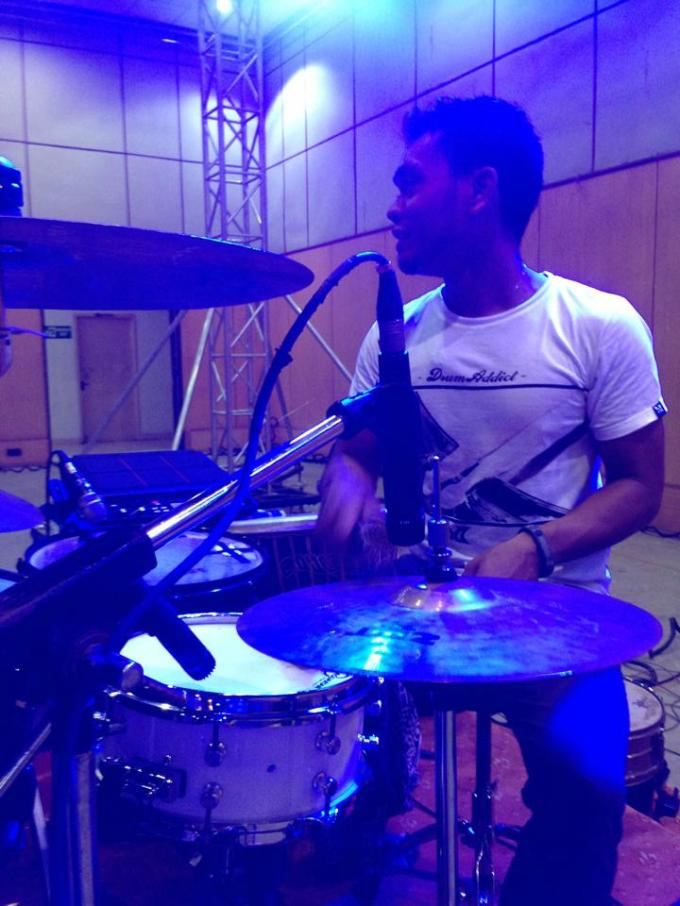 Pantheon Percussion: Riduan Zalani proudly representing us in Chennai, India!