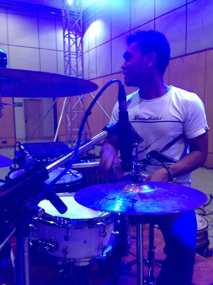 Pantheon Percussion: Riduan Zalani proudly representing us in Chennai, India!