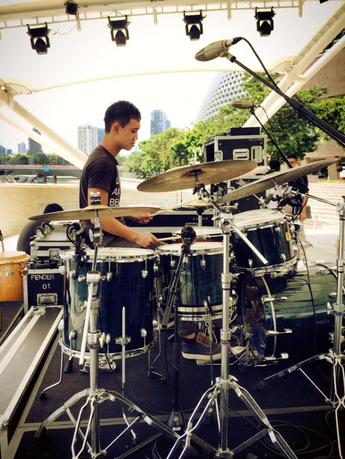 Pantheon Percussion: Teo Jia Rong plays Esplanade tonight from 7.30pm