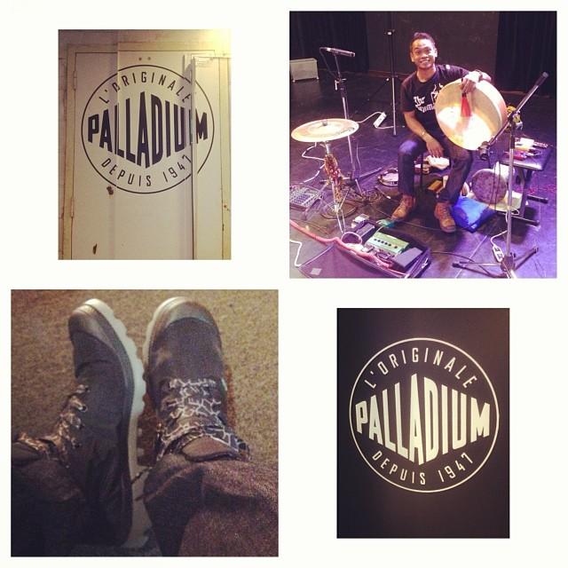 Pantheon Percussion: Riduan Zalani now endorsing Palladium Boots