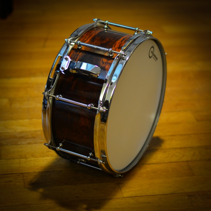 Pantheon Percussion: Do you like Cocobolo snares?