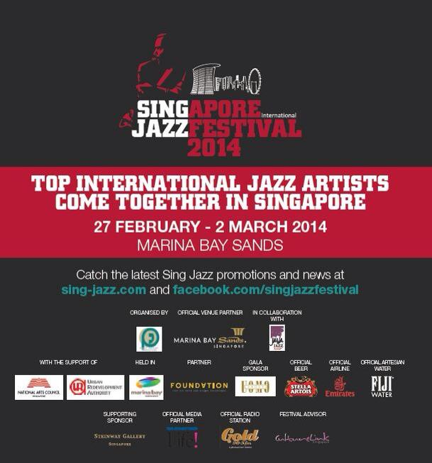 Pantheon Percussion: Teo Jia Rong backs Michaela at Singjazz Festival 2014 tomorrow