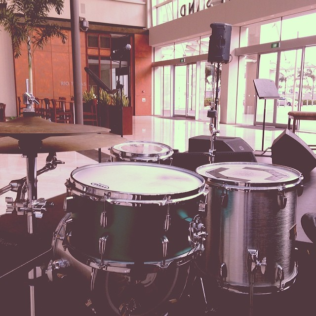 Panteon Percussion: Satin Green 14 x 7 Aluminium at MBS and BluJaz