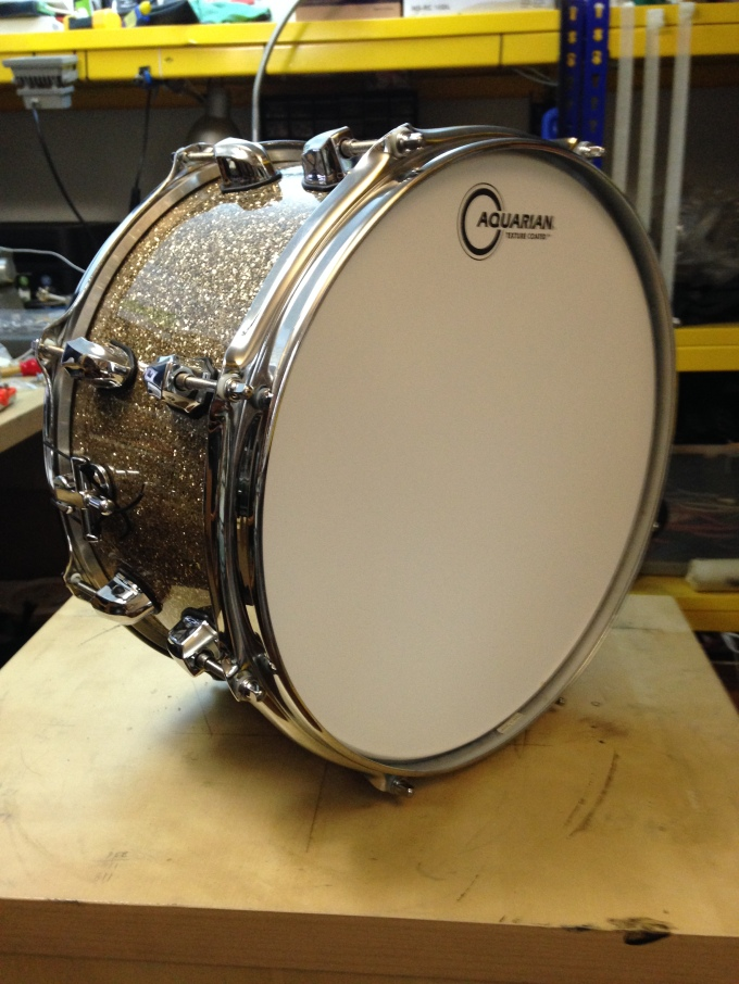 Pantheon Percussion: Soundfarm Studios commissions 13 x 7 Birch snare