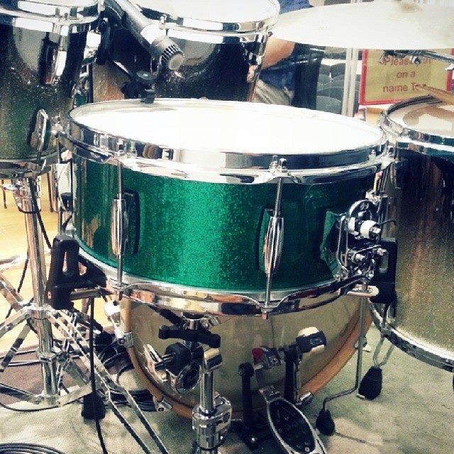 Pantheon Percussion: Happy belated St. Patrick's day!
