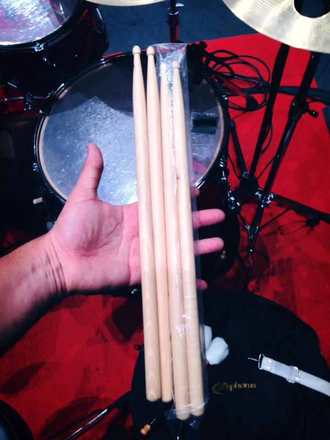 Pantheon Percussion: Pablo Calzado gets his hanse on our sticks!