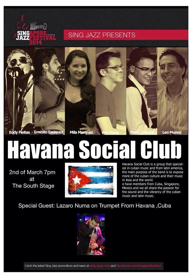 Pantheon Percussion: Pablo Calzado plays at Singjazz 2014 tonight with Havana Social Club