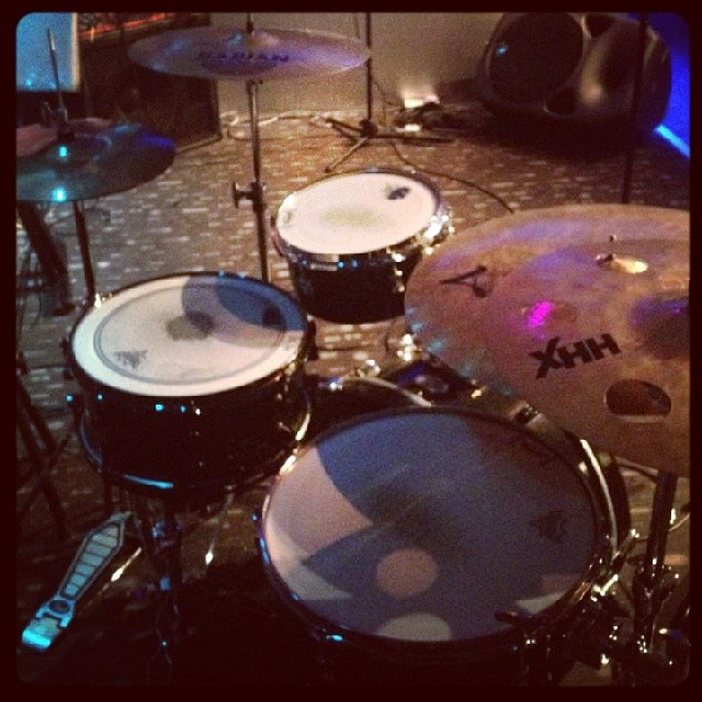 Pantheon Percussion: Snare spotted at J Bar!