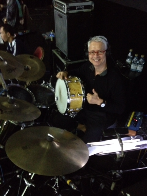 Pantheon Percussion: Gary Gideon uses Mappa Burl 14 x 6.5 Maple snare in Genting
