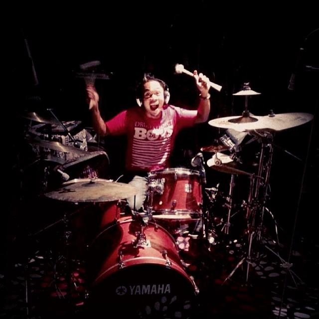 Pantheon Percussion: Riduan Zalani on Day 2 is the Studio with OrkeStar Trio