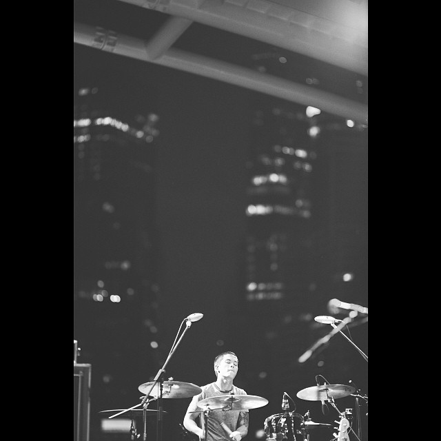 Pantheon Percussion: The super talented Ritz Ang representing us at a recent Esplanade gig