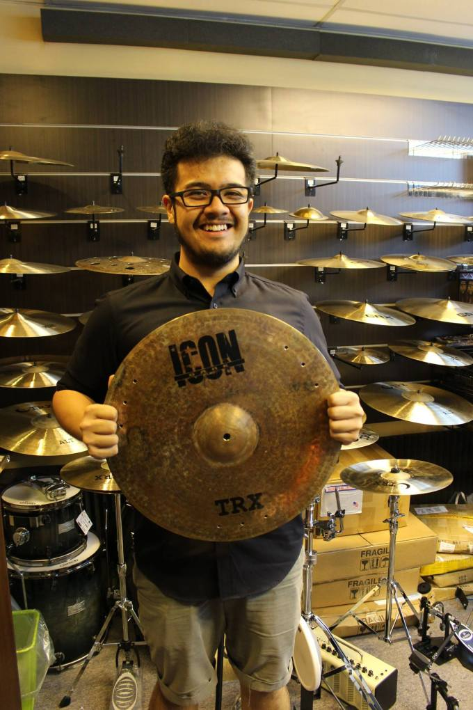 Pantheon Percussion: Adam Shah is now the latest TRX Artiste!