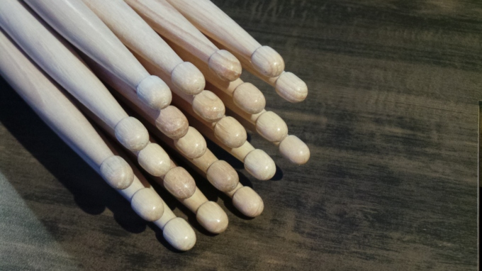 Pantheon Percussion: Taking Pre-orders for 5A and 5B sticks. We're out.