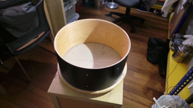 Pantheon Percussion: Black and Gold snare northwards bound for Malaysia