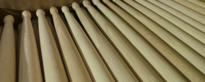 Pantheon Percussion: Have you checked out our sticks at Guitar77 and the basement studio yet?