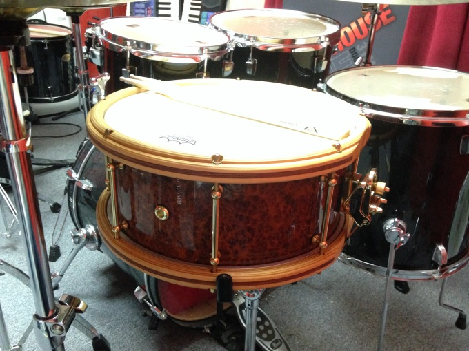 Pantheon Percussion: Aaron James Lee pulls out one of our most decadent snares