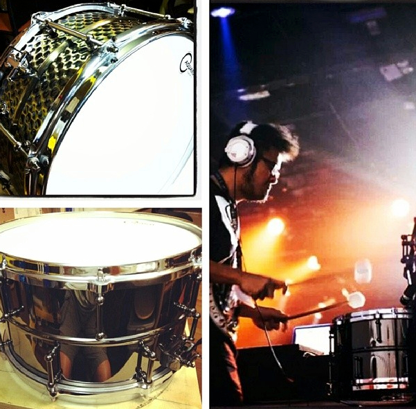 Pantheon Percussion: Brass snares on offer till end of June!