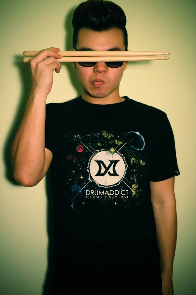 Pantheon percussion: We would like to welcome Zai Lim to the family!
