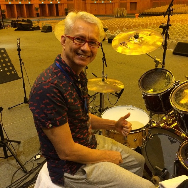 Pantheon Percussion: Gary Gideon doesn't go anywhere without our 5B sticks and snares
